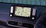 Hyundai Kona Electric 2018 road test review - satnav