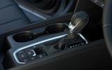 Hyundai Santa Fe 2019 road test review - gearstick
