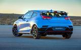 Hyundai Veloster N 2018 review - static rear