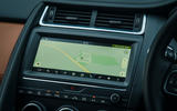 Jaguar E-Pace review sat-nav