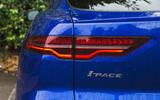 Jaguar I-Pace 2018 road test review rear lights