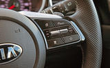 Kia Proceed GT-Line 2019 road test review - steering wheel controls