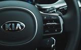 17 Kia Sorento 2021 road test review steering wheel
