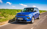 Kia Soul EV 2019 European first drive - on the road front
