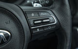 Kia Stinger GT line 2018 review cruise control buttons