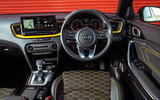 Kia Xceed 2019 road test review - dashboard
