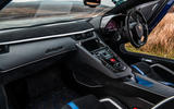 Lamborghini Aventador SVJ 2019 road test review - dashboard