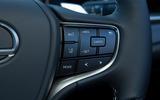 Lexus ES 2019 road test review - steering wheel controls