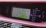 Lexus LS500h 2018 road test review infotainment