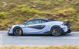 McLaren 600LT 2018 review - on the road side