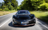 McLaren Speedtail 2020 UK first drive review - on the road nose