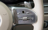 Mercedes-AMG CLS 53 2018 road test review - steering wheel buttons