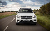 Mercedes-AMG GLC 43 road test review - on the road nose