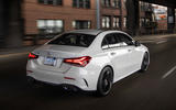 Mercedes-Benz A-Class saloon 2018 review - on the road rear