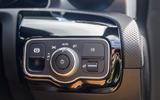 Mercedes-Benz A250e 2020 road test review - light controls