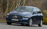 Mercedes-Benz B-Class 2019 road test review cornering front