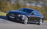 Mercedes-Benz CLS 400d 2018 review on the road hero
