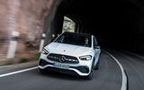Mercedes-Benz GLA 2020 road test review - cornering