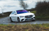 17 mercedes s class s500 2020 lhd uk first drive review on road front