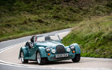 Morgan Plus Four 2020 road test review - on the road front