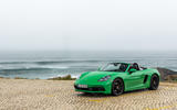 Porsche 718 Boxster GTS 4.0 2020 road test review - static front