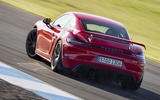 Porsche 718 Cayman GT4 2019 road test review - oppo rear