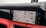 Porsche Taycan 2020 road test review - navigation