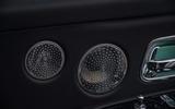 Rolls Royce Cullinan 2020 road test review - speakers