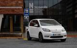 SKoda Citigo-e IV 2020 road test review - static front