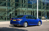 Toyota Camry 2019 review - static rear