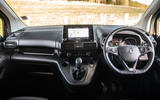 Vauxhall Combo Life 2018 road test review - dashboard