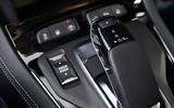 Vauxhall Grandland X Hybrid4 2020 road test review - gearstick