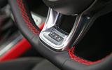 Volkswagen Polo GTI 2018 road test review steering wheel details