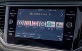 Volkswagen T-Roc Cabriolet 2020 road test review - radio