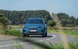 17 Volvo C40 Recharge 2021 first drive review cornering front
