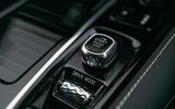 Volvo S60 Polestar Engineered 2020 road test review - start switch