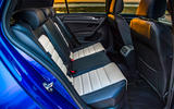 Volkswagen Golf R 2019 road test review - rear seats