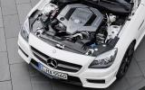 5.5-litre V8 Mercedes-AMG SLK 55 engine