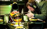 Lotus F1 returns; Vettel fastest