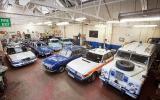 Vintage police cars: Wolseley 18/85