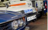 Vintage police cars: Morris Minor
