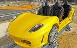 The Ferrari F430 rollercoaster