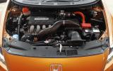 Honda CR-Z Mugen supercharged engine