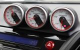 Honda CR-Z Mugen boost gauges