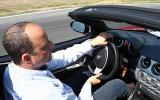 Driving the Alfa Romeo 8C Spider
