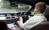 Driving the BMW 740d M Sport