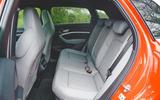 18 Audi E Tron S 2021 RT rear seats
