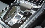 Audi Q8 50 TDI Quattro S Line 2018 road test review - centre console