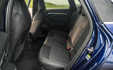 Audi S3 Sportback 2020 road test review - rear seats