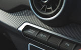 Audi SQ2 2019 road test review - drive select buttons